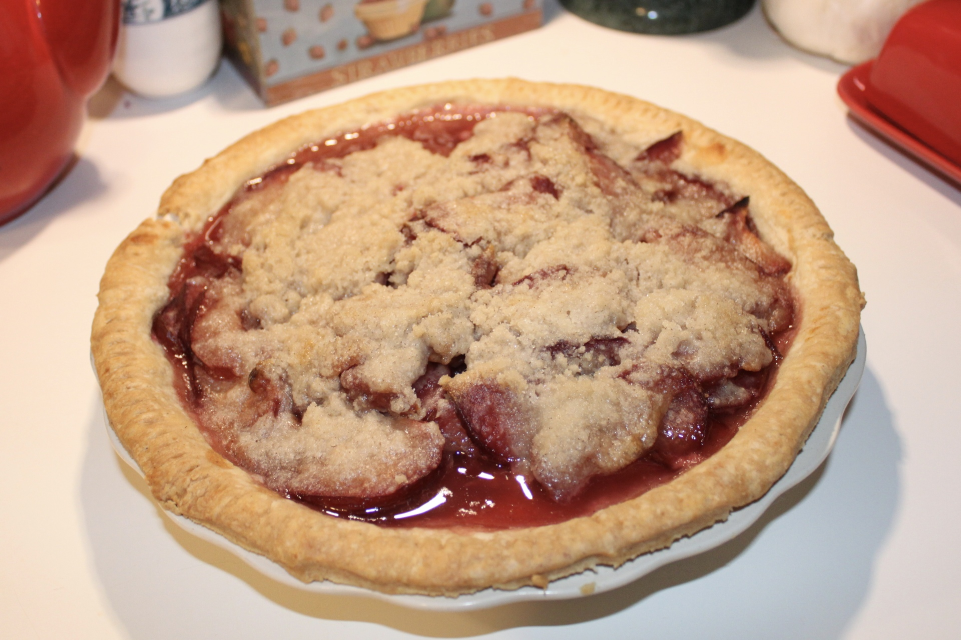 Vegan Plum Pie?
